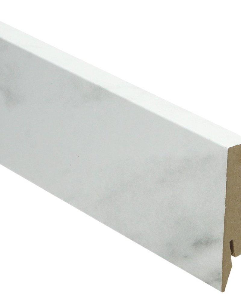 marmer rechte hoge plint voor laminaat, pvc en parket