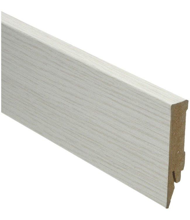 aspen eiken rechte hoge plint voor laminaat, pvc en parket