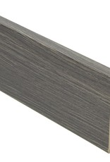 wellington eiken rechte hoge plint voor laminaat, pvc en parket