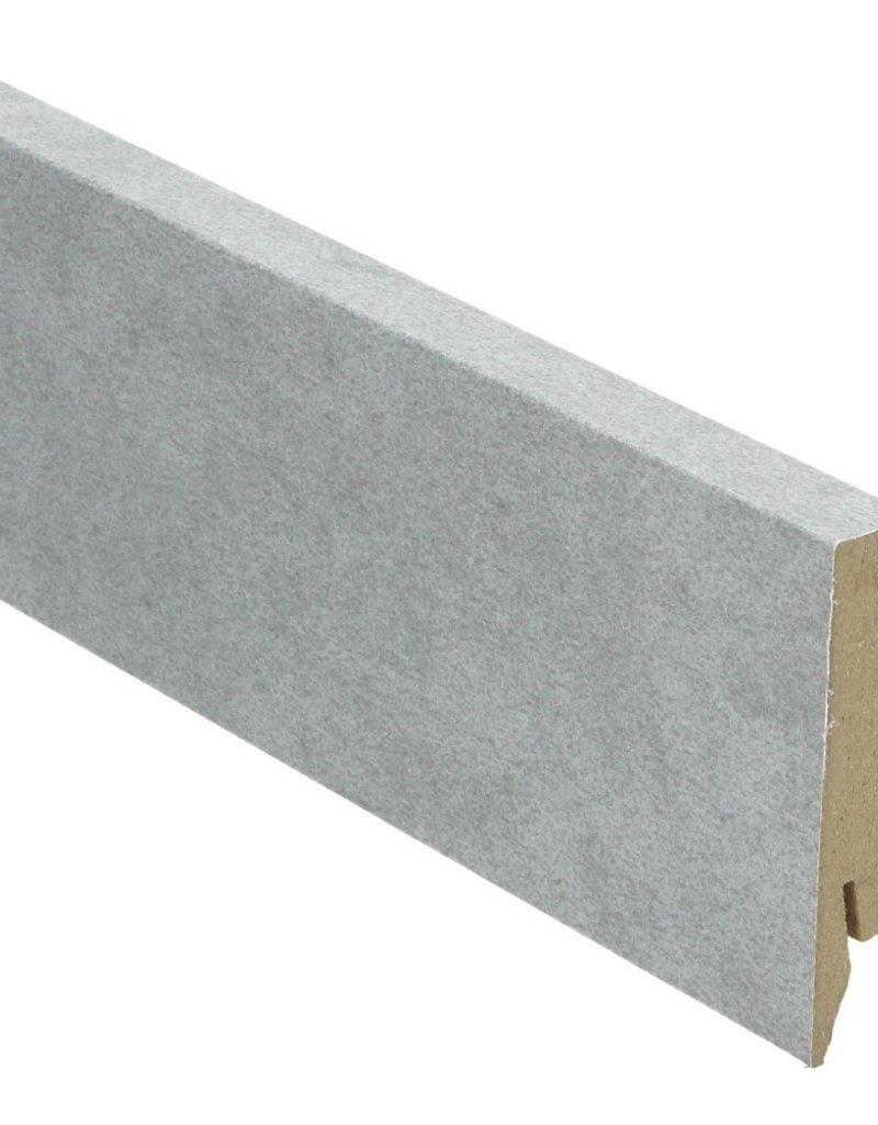 zand licht rechte hoge plint voor laminaat, pvc en parket