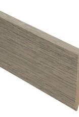 traditional oak rechte hoge plint voor laminaat, pvc en parket