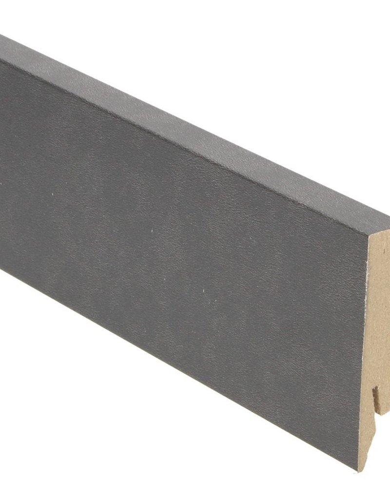 tegel blauw rechte hoge plint voor laminaat, pvc en parket