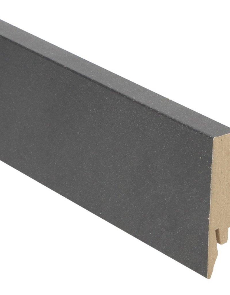 Belgisch hardstenen rechte hoge plint voor laminaat, pvc en parket
