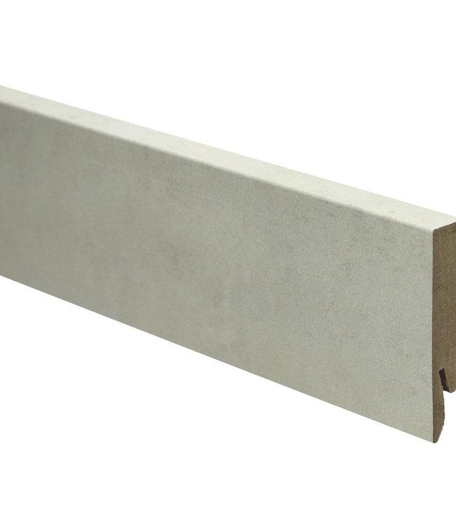 tivoli travertin rechte hoge plint voor laminaat, pvc en parket