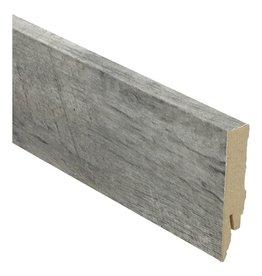 Rechte hoge plint Castle Oak light grey