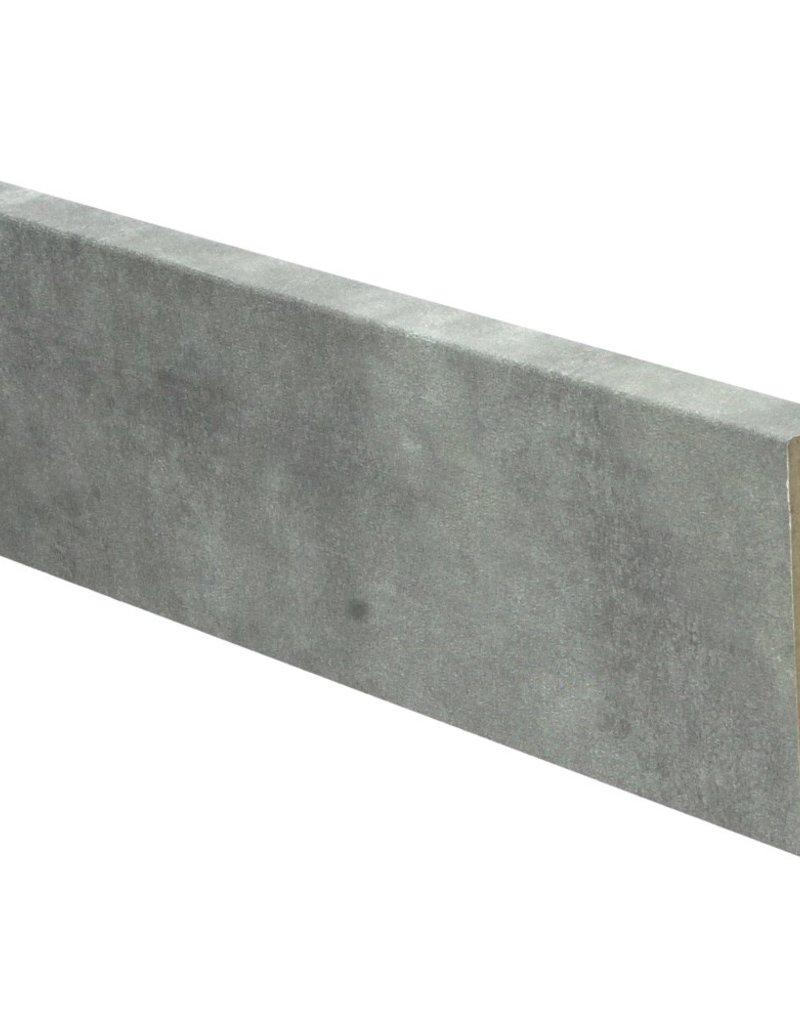 Jazz grey rechte hoge plint voor laminaat, pvc en parket