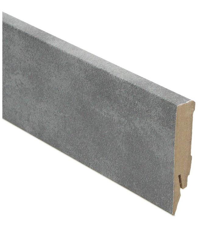 Cantera green rechte hoge plint voor laminaat, pvc en parket