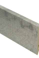 Country Oak grey rechte hoge plint voor laminaat, pvc en parket
