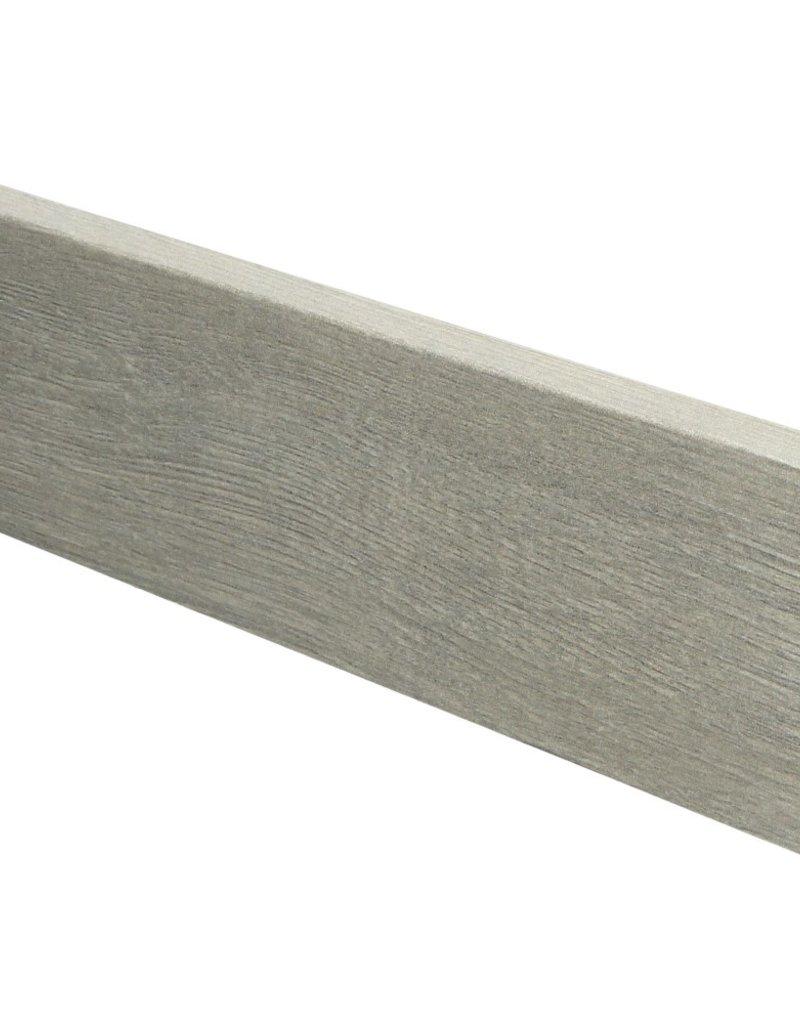 Mountain Oak beige rechte hoge plint voor laminaat, pvc en parket