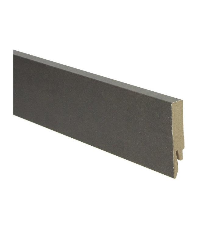 beton gepolijst koper rechte hoge plint voor laminaat, pvc en parket