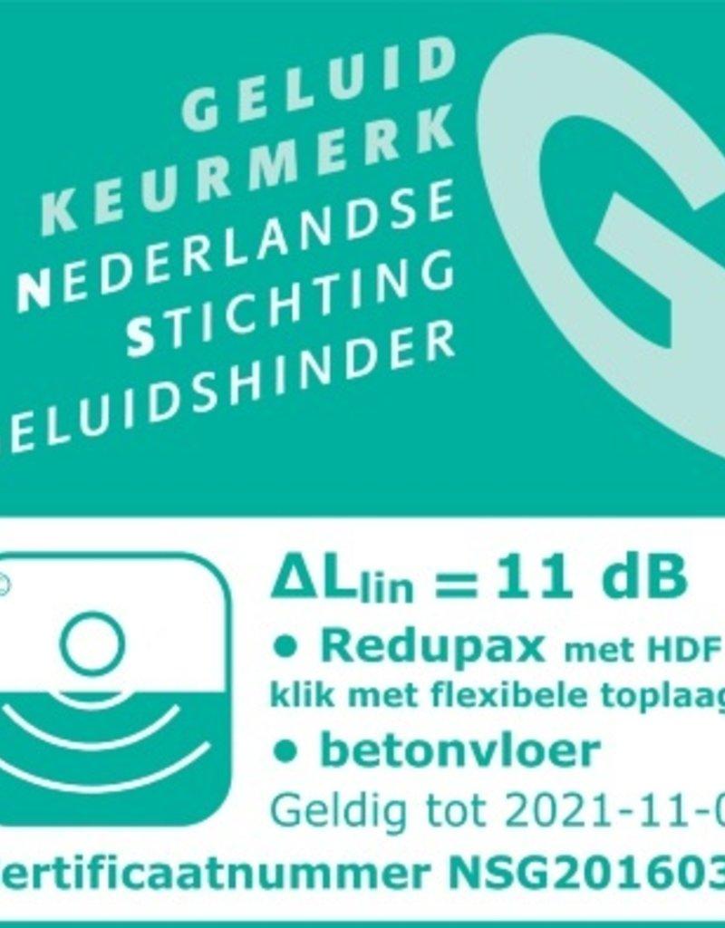 Unifloor Redupax egaliserend en isolerende ondervloer