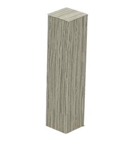 Afwerk blokje voor hoge plint