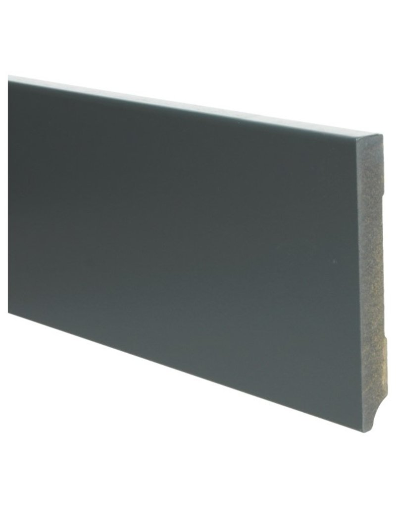 Moderne plint RAL 7016 Antracietgrijs