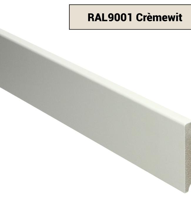 Moderne plint RAL 9001 Crème wit