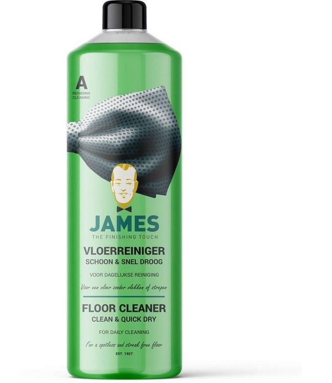 James Vloerreiniger Schoon & Snel Droog voor laminaat en PVC vloeren