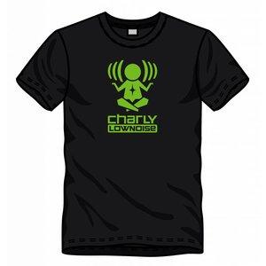 CHARLY LOWNOISE T-shirt met logo GROEN