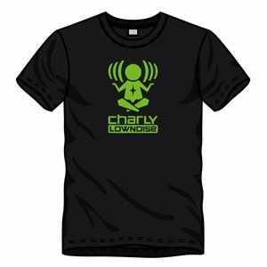 CHARLY LOWNOISE T-shirt with logo GREEN