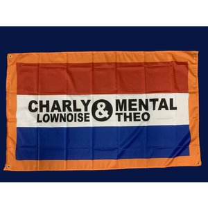 CHARLY LOWNOISE & MENTAL THEO Dutch Flag with logo