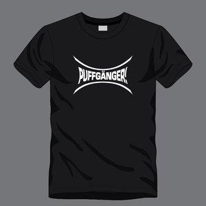 T-shirt zwart - Puffganger/BEB logo