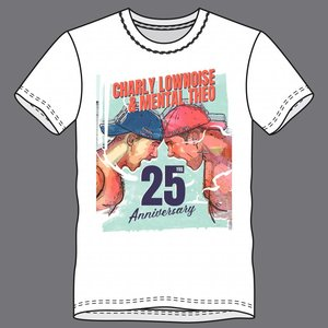 CHARLY LOWNOISE & MENTAL THEO T-shirt 25 years Charly Lownoise & Mental Theo