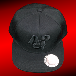 AMAZING PETER GAMING snapback cap 3D - black on black