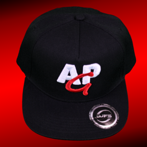 AMAZING PETER GAMING snapback cap 3D - red-white on black