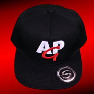 AMAZING PETER GAMING snapback cap 3D - rood-wit op zwart