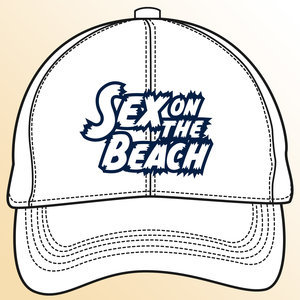 Snapback CAP - Sex on the Beach logo - navy-wit