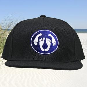 Snapback CAP adult logo - navy-wit