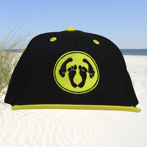 T-SPOON Snapback CAP adult logo - black-yellow