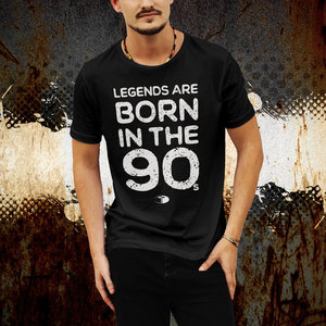 T-SPOON T-shirt, black, Born in the 90s