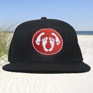 Snapback CAP adult logo - rood-wit