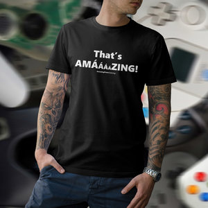 AMAZING PETER GAMING T-shirt - That's Amazing