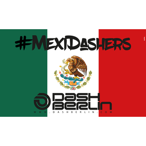 DASH BERLIN Vlag MexiDashers