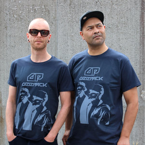 T-shirt with photo and logo