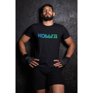 T-shirt black with KOBBRA logo in full color