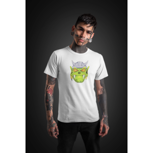 T-shirt white with DWARF HEAD in full color - Copy