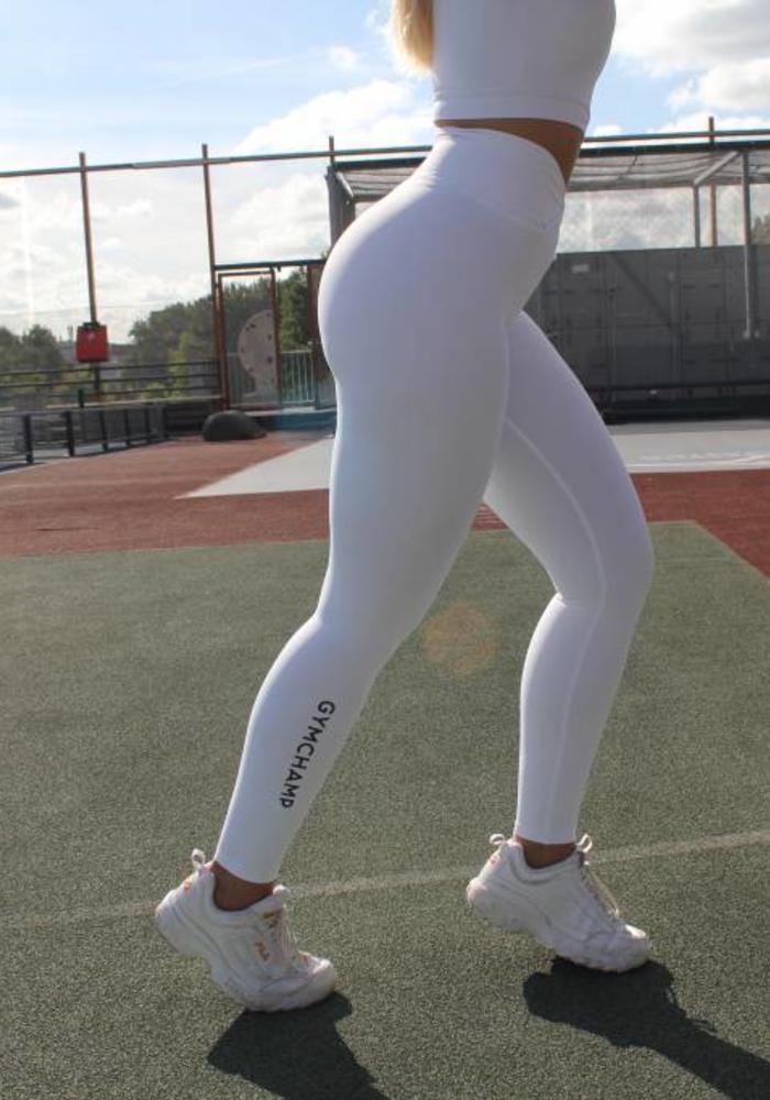 GYMCHAMP CLASSIC HIGH WAIST LEGGING - WHITE