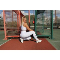 CLASSIC HIGH WAIST LEGGING - WHITE LIMITED EDITION