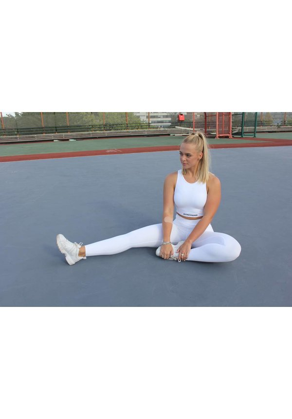 CLASSIC HIGH WAIST LEGGING - WHITE
