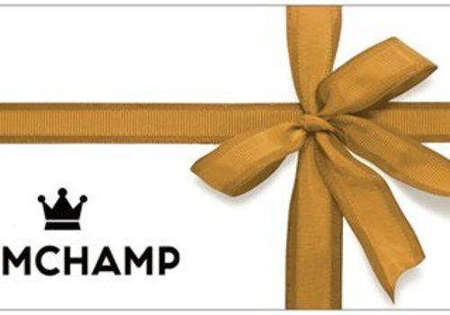 Gymchamp sportswear GIFT CARD