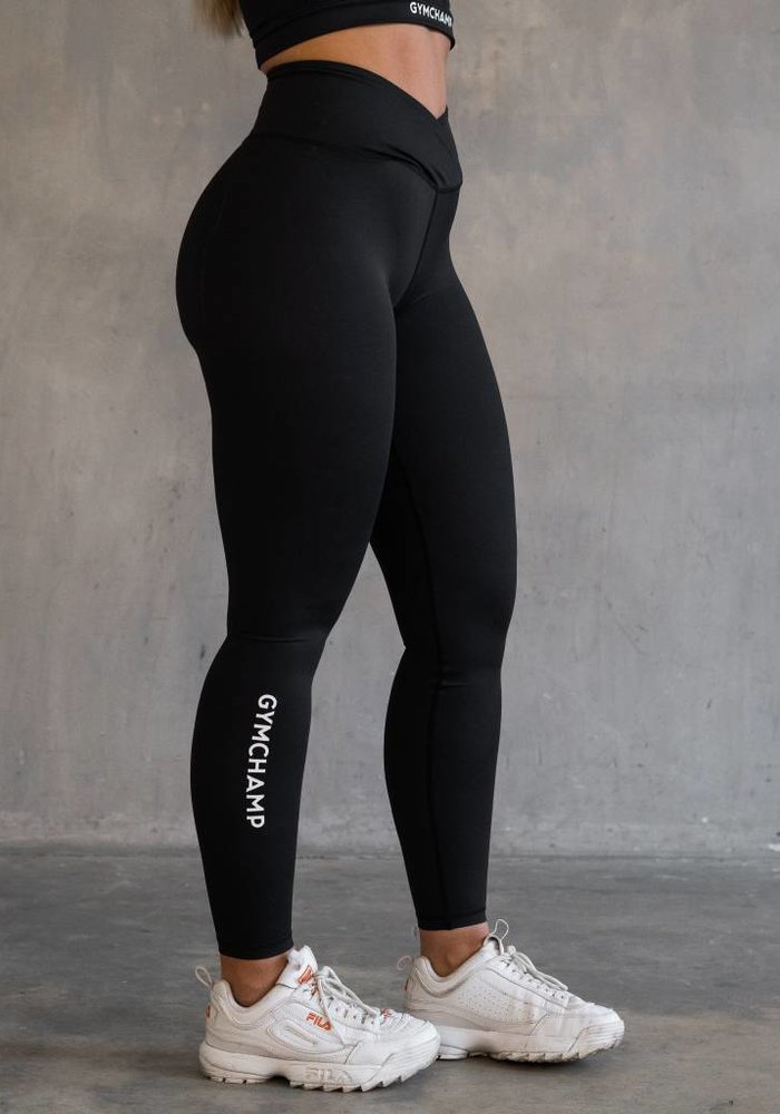 CLASSIC HIGH WAIST LEGGING - BLACK