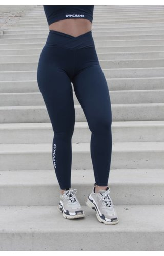 Gymchamp sportswear CLASSIC HIGH WAIST LEGGING - NAVY BLUE