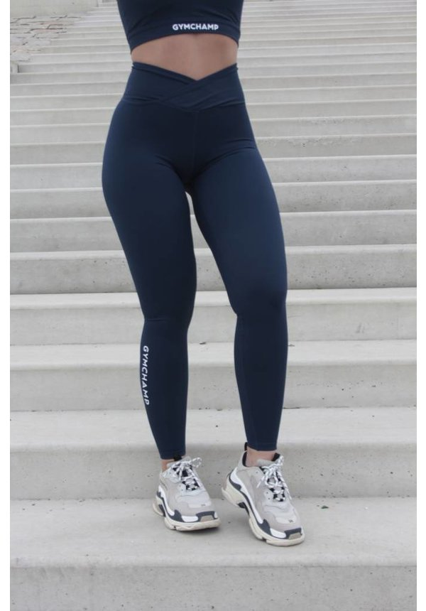 CLASSIC HIGH WAIST LEGGING - NAVY BLUE