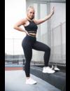 CHAMP HIGH WAIST LEGGING - BLACK