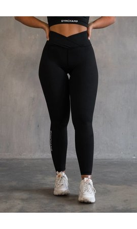 Gymchamp sportswear CLASSIC HIGH WAIST LEGGING - BLACK
