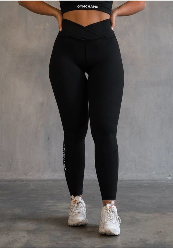 CLASSIC HIGH WAIST LEGGING - BLACK