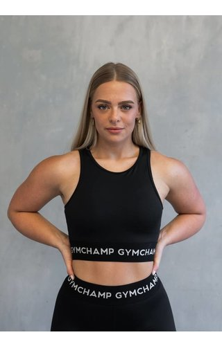 Gymchamp sportswear CHAMP SPORTS BRA - BLACK