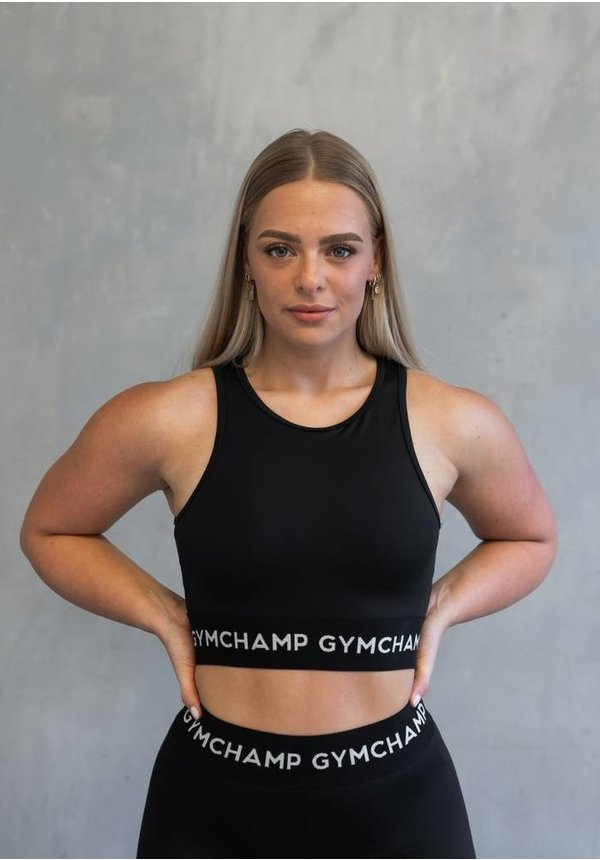 CHAMP SPORTS BRA - BLACK