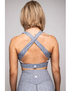 HEATHER GREY CROSS BACK BRA